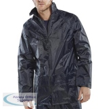 B-Dri Weatherproof Jacket with Hood Lightweight Nylon Large Navy Blue Ref NBDJNL *Up to 3 Day Leadtime*