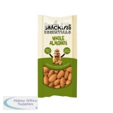 Snacking Essentials Whole Almonds Shot Packs 40g Ref 106240 [Pack 16]