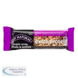 Eat Natural Extra Protein Bar Maple Syrup Pecans & Peanuts 45g Ref MPP [Pack 12]