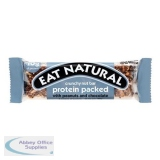 Eat Natural Crunchy Nut Bar Peanuts & Chocolate 45g Ref PRO [Pack 12]