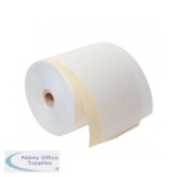 Carbonless Paper Rolls 76x12.5mm Length 30m [Pack 20]