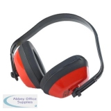 B-Brand Economy Ear Defenders SNR 27dB Red Ref BBED [Pack 10] *Up to 3 Day Leadtime*