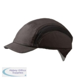 Centurion Airpro Baseball Bump Cap Reduced Peak Black Ref CNS38BLRP *Up to 3 Day Leadtime*