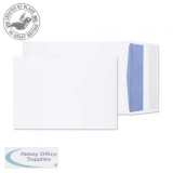 Purely Packaging Envelope P&S 120gsm C5 229x162x25mm White Ref 6000 [Pack 125] *10 Day Leadtime*