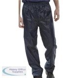 B-Dri Weatherproof Trousers Nylon Lightweight L Navy Blue Ref NBDTNL *Up to 3 Day Leadtime*