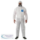 Microgard 1500 Plus Overall White 2XL Ref ANWH15111XXL *Up to 3 Day Leadtime*