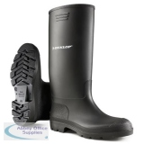 Dunlop Pricemastor Wellington Boot Size 12 Black Ref BBB12 *Up to 3 Day Leadtime*