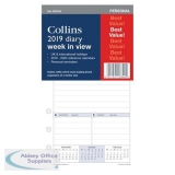 Collins 2019 Personal Diary Refill Week to View Ref PR2700-19