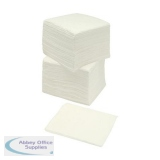 5 Star Facilities Napkins 2-ply 40cm White [Pack 100]