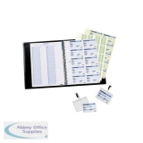 Durable Visitors Book for 100 inserts 1463/00