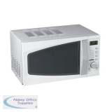 5 Star Facilities Microwave Oven 800W Digital 20 Litre White