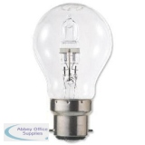 GE Light Bulb Energy Saving GLS Halogen Bayonet Fitting 42W Clear Ref 62575