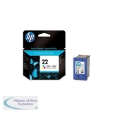 Hewlett Packard No22 Inkjet Cartridge 3-Colour C9352AE