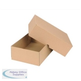 Smart Box Carton/Lid 305x215x100mm Brown Pack of 10 144667114
