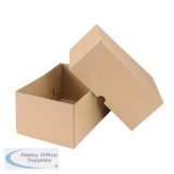 Smart Box Carton/Lid 305x215x150mm Brown Pack of 10 144668114