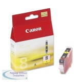 Canon Pixma iP4200/MP830 Inkjet Cartridge Yellow CLI-8Y