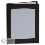 Rexel Clearview Display Book 50 Pockets A4 Black Ref 10350BK