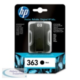 Hewlett Packard No363 Inkjet Cartridge Black C8721EE