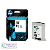 Hewlett Packard No88 Inkjet Cartridge 20.5ml Black C9385AE