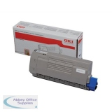Oki C710/711 Laser Toner Cartridge Black 44318608
