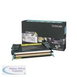 Lexmark C736/X736/X738 Return Programme Toner Cartridge 10K Yellow 0C736H1YG