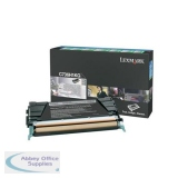 Lexmark C736/X736/X738 Return Programme Toner Cartridge 12K Black 0C736H1KG