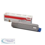 Oki C801/821 Toner Cartridge 7K Black 44643004