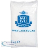 Tate and Lyle Granulated Pure Cane Sugar Bag 2kg Ref 412079