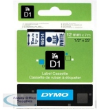Dymo 4500 Tape Blue/White 45014 S0720540