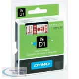 Dymo 4500 Tape Red/White 45015 S0720550