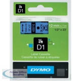 Dymo 4500 Tape Black/Blue 45016 S0720560