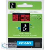 Dymo 4500 Tape Black/Red 45017 S0720570