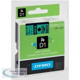 Dymo 4500 Tape Black/Green 45019 S0720590