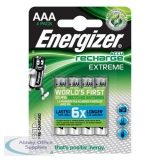Energizer Battery Rechargeable Advanced NiMH Capacity 800mAh LR03 1.2V AAA Ref 627948 [Pack 4]