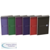 Oxford Office Reporters Notebook Polypropylene 140pp Random Metallic Colour Ref 100080497 [Pack 10]