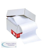 5 Star Office Listing Paper 1-Part Micro-perforated 70gsm A4 Plain [2000 Sheets]