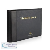 Concord Visitors Book Black 85710/CD14