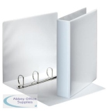 ES600530 - Esselte Presentation 4D-Ring Binder 40mm A4 White 49704