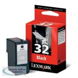 Lexmark No32 Inkjet Cartridge Black 18CX032E