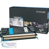 Lexmark C522N/C524 Return Programme Toner Cartridge Cyan C5220CS