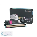 Lexmark C524/C534 Return Programme Toner Cartridge High Yield Magenta C5240MH