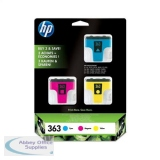 Hewlett Packard No363 Inkjet Cartridge Cyan/Magenta/Yellow CB333EE