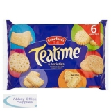Crawford s Teatime Varieties Biscuits Assorted 6 Types 275g Ref 0401016
