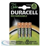 Duracell Stay Charged AAA Battery Pack of 4 75071747