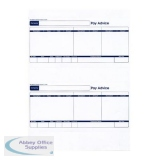 Sage Compatible Pay Advice Laser or Inkjet A4 Sheet 210x102mm Slip Ref SE95 [500 Forms/1000 Payslips]