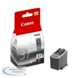 Canon Pixma iP1800/MP220 Inkjet Cartridge Black PG-37