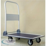 5 Star Facilities Platform Truck Standard-duty Capacity 150kg Baseboard W725xD470mm Blue and Grey