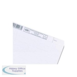 Elba Verticfile Card Inserts for Tabs of Vertical Suspension File White Ref 100330219 [Pack 50]