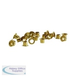 Rexel Copper Eyelets 5.5mm Shank Ref 20320052 [Pack 500]
