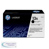 Hewlett Packard No13A LaserJet Toner Cartridge Standard Capacity Black Q2613A